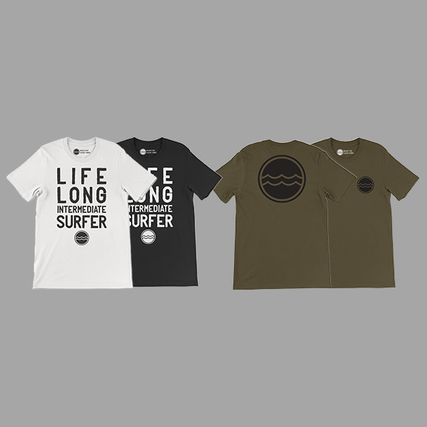 Click to see examples of apparel design by graphic designer Justin Baar