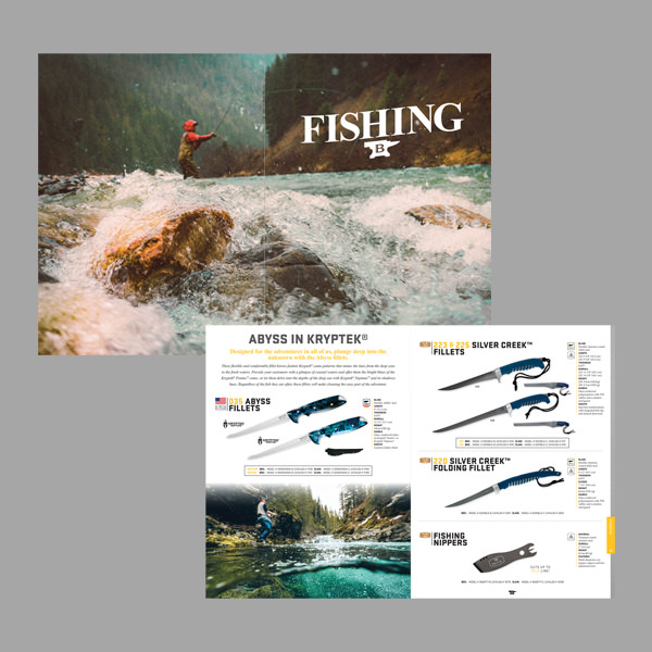 Click to see catalog design examples from graphic designer Justin Baar